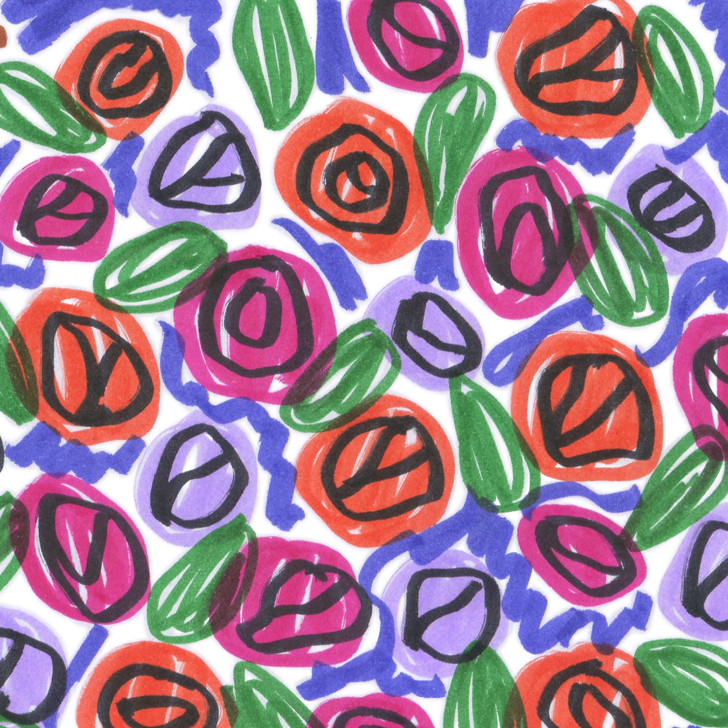 motif végétal 7