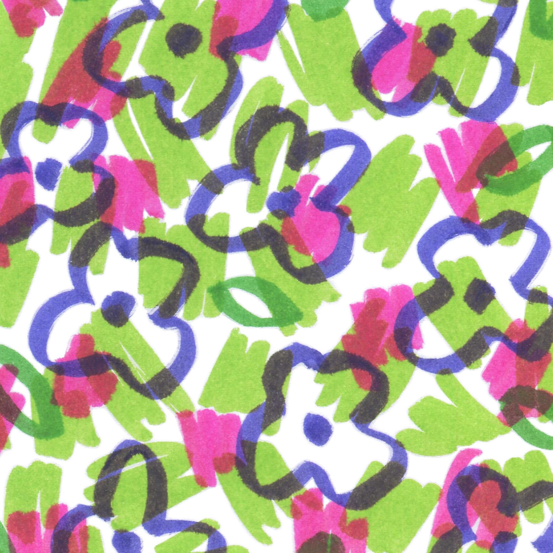 motif végétal numéro 6