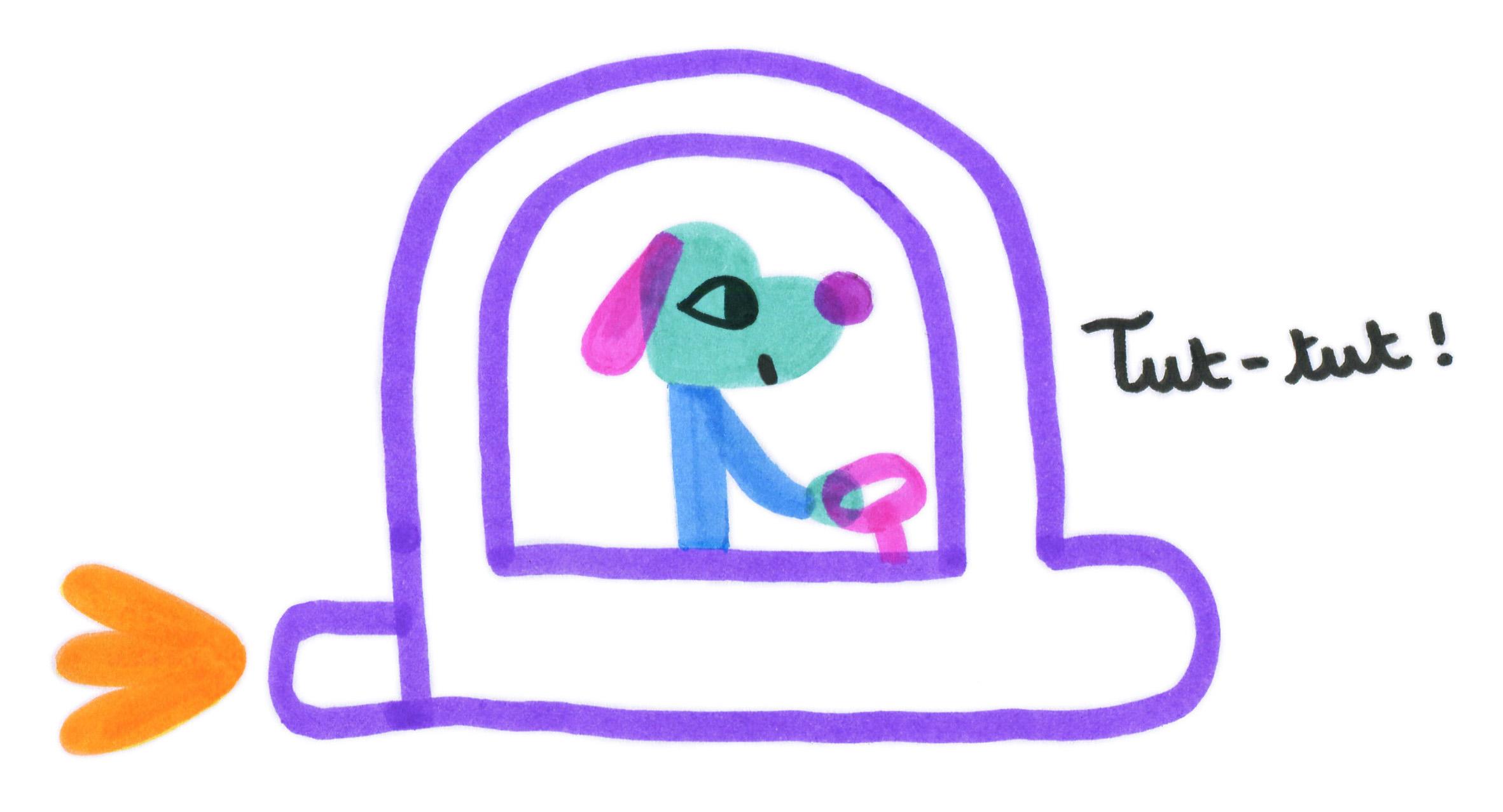chien vaisseau