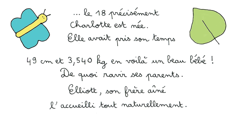 Faire-part page 2