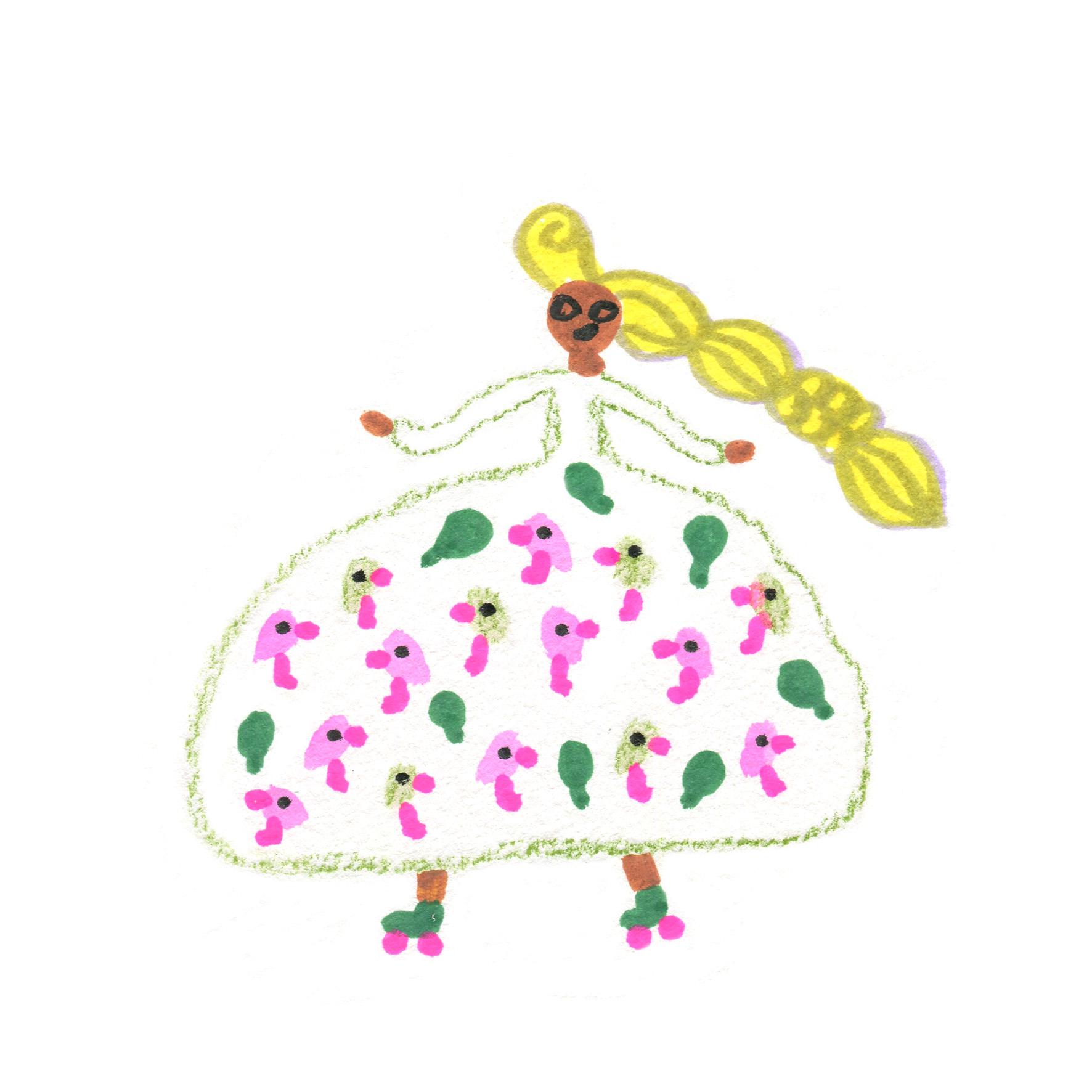 Princesse 3 motif