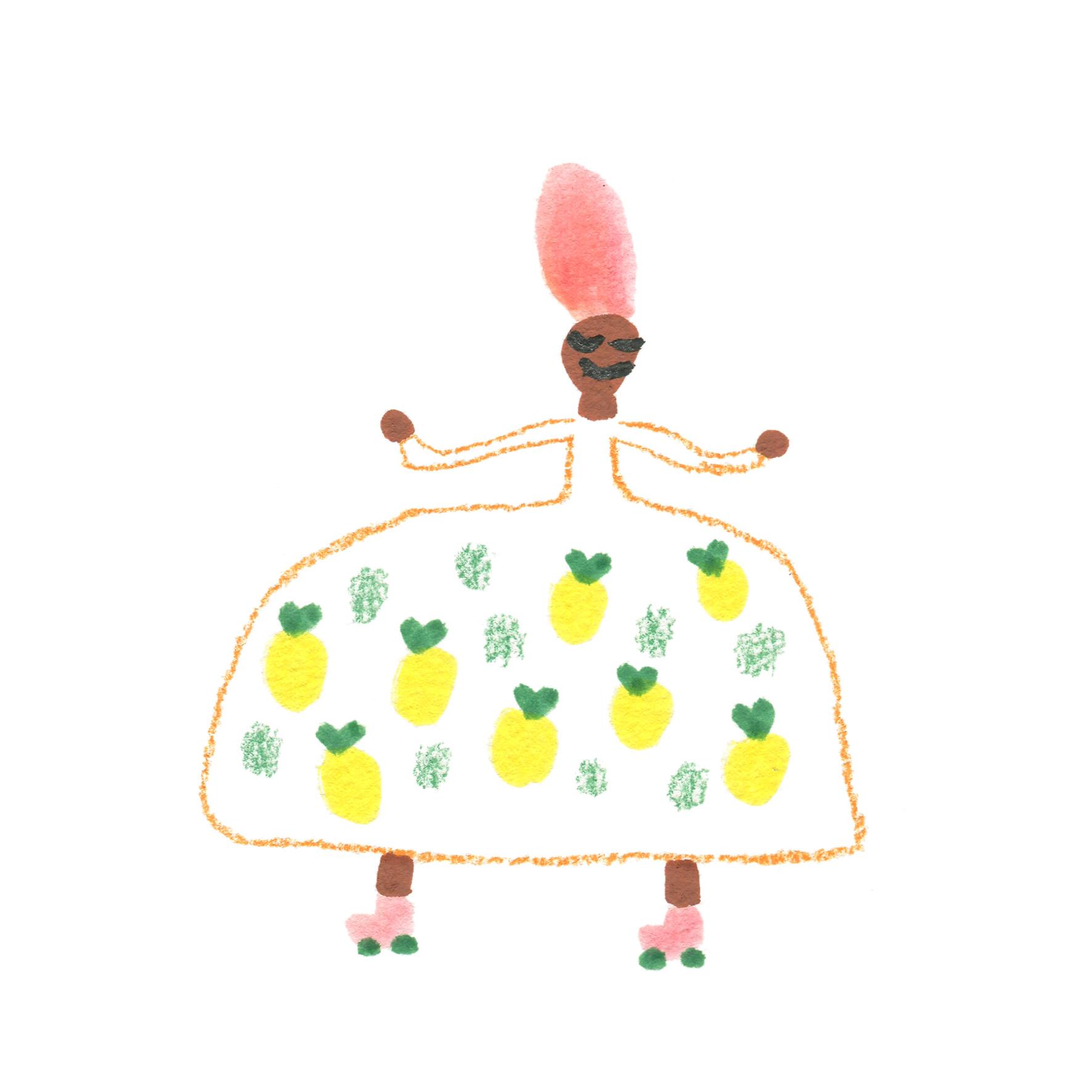 Princesse 5 motif
